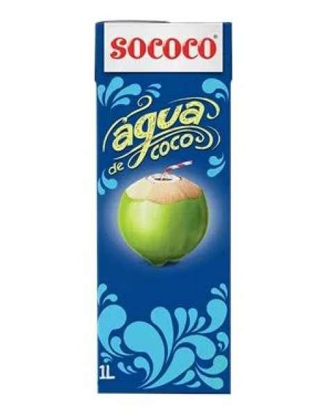 Água de Côco Sococo 1L