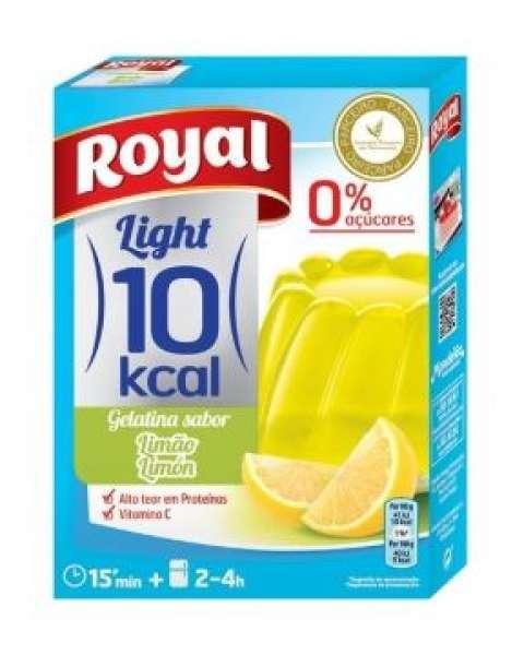 Gelatina Royal Light Limão 31g