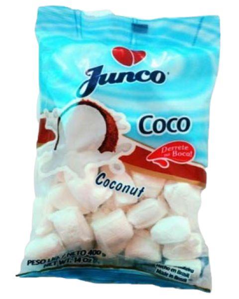 Bala de Côco Junco 400g