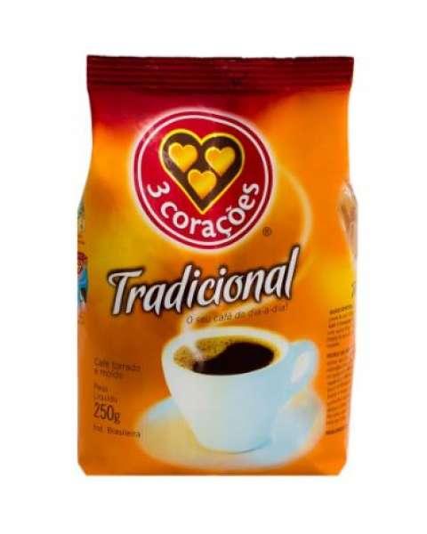 Café Tradicional Três Corações 250g