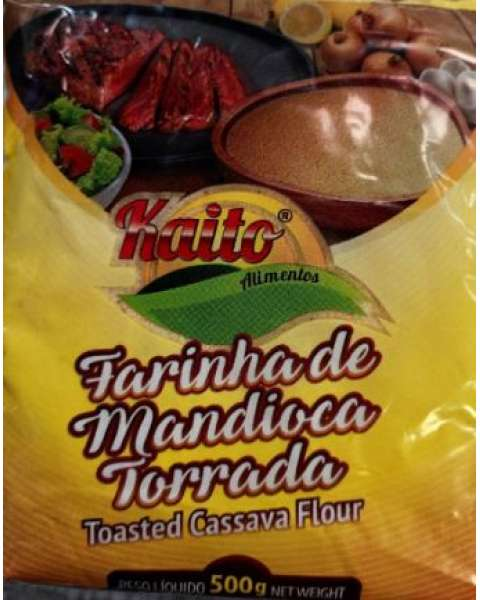 Farinha de Mandioca Torrada Kaito 500g