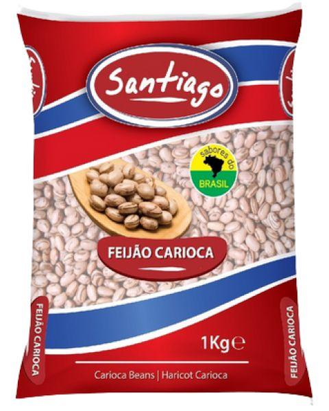Feijão Carioca Santiago 1Kg