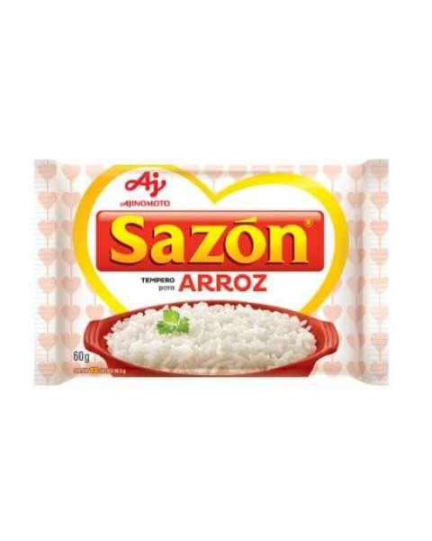 Tempero Pronto para Arroz com Sal Sazón 60g