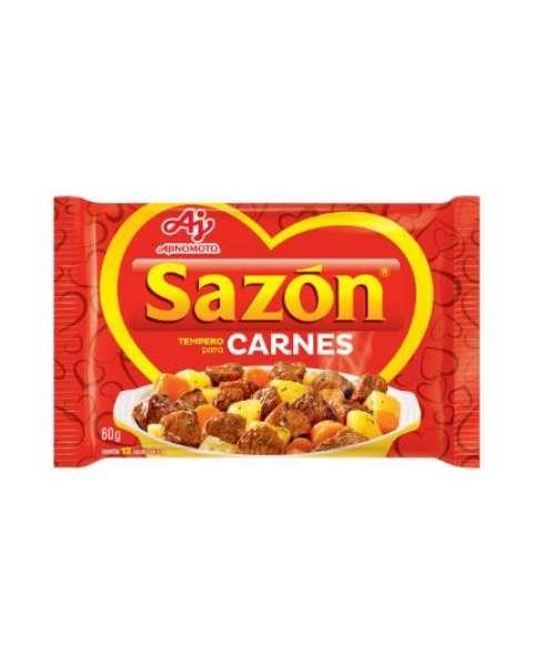 Tempero Pronto para Carne com Sal Sazón 60g