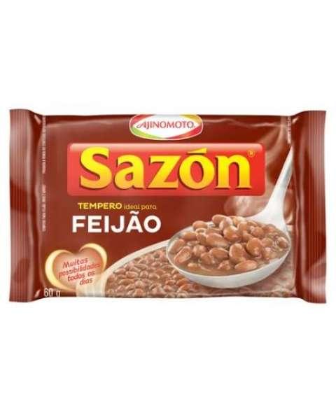 Tempero Pronto para Feijão com Sal Sazón 60g