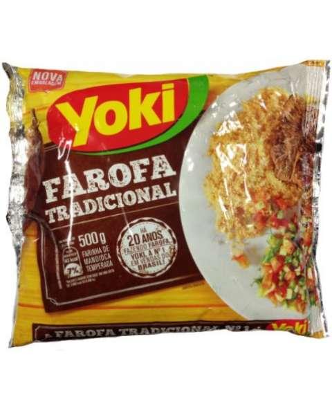 Farofa Pronta Tradicional Yoki 500g