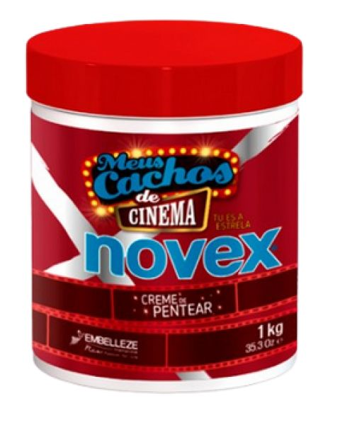 Creme de Pentear Meus Cachos de Cinema Novex 1 Kg