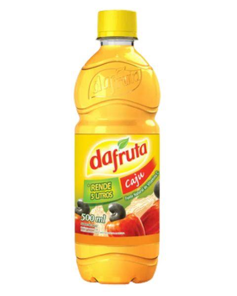 Suco Concentrado de Caju Dafruta 500ml