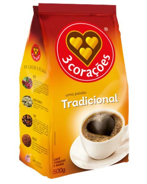 Café Tradicional Três Corações 500g
