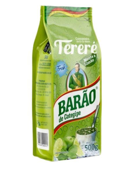 Erva Tereré c/ Menta e Limão Barão 500g