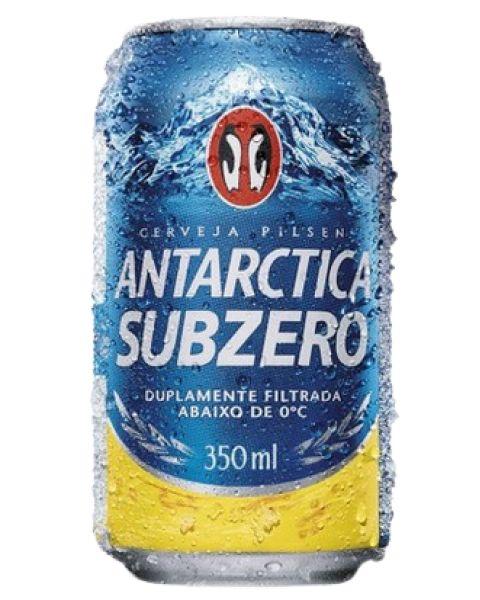 Cerveja Antarctica Subzero Lata 350ml
