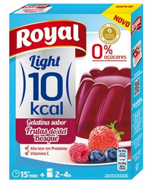 Gelatina Royal Light Frutas do Bosque 31g