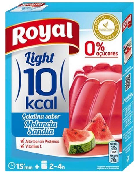 Gelatina Royal Light Melancia 31g