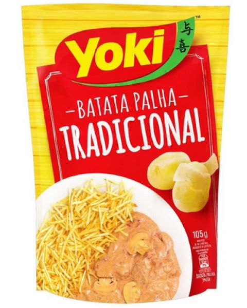 Batata Palha Tradicional Yoki 105g