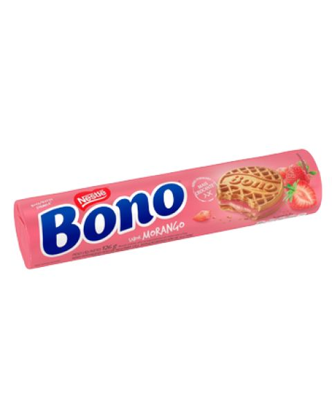 Biscoito Bono Morango 126g