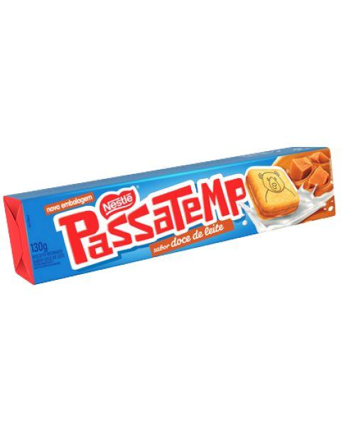 Biscoito Passatempo Recheio Doce de Leite 130g