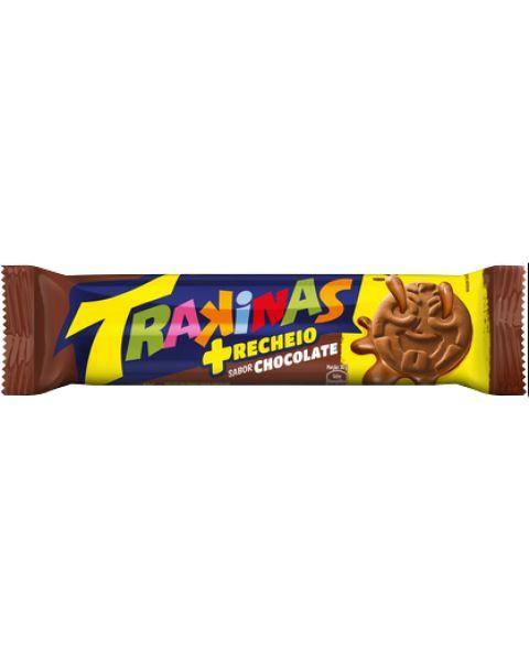 Biscoito Trakinas Mais Chocolate 126g