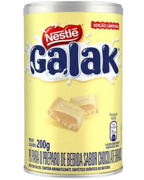 Achocolatado Galak Chocolate Branco 200g