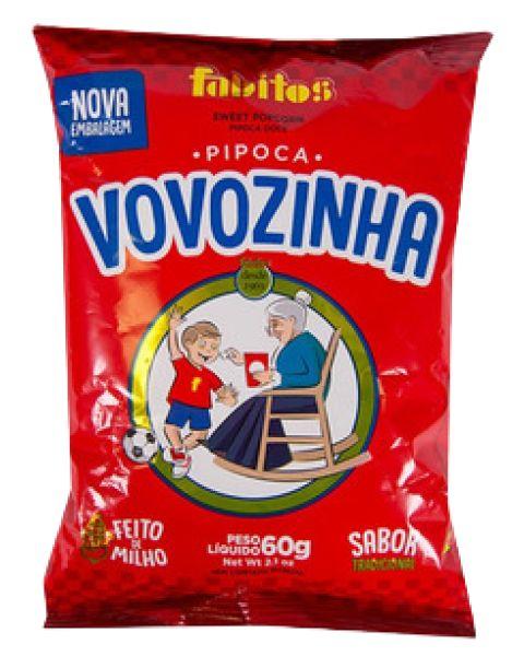Pipoca Doce de Canjica Vovozinha 40gr